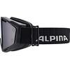 Alpina Panoma Magnetic Q+S S1+S3 Goggle black matt/black